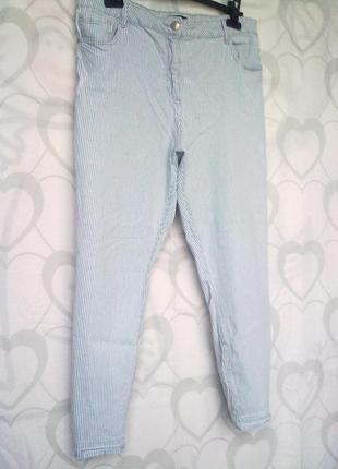 Летние брючки/джинсы на лето, батал от denim 72d, р.16