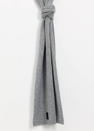 Soul star asos шарф серый