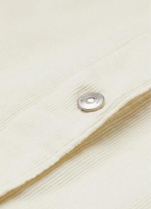Вельветовое платье-рубашка прямого кроя из хлопка с поясом широкими рукавами5 фото