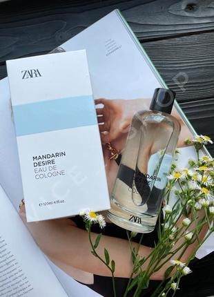 Zara mandarin desire духи парфюм туалетная вода одеколон испания оригинал