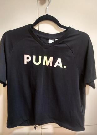 Укороченная футболка puma1 фото