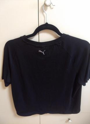 Укороченная футболка puma2 фото