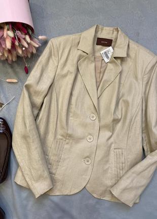 100% лен льняной жакет пиджак в стиле zara