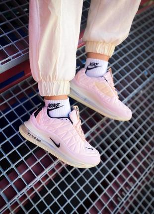 "Nike air max 720 818 ""pink/violet/rose"" розовые нежные кроссовки найк для бега тренировок жіночі рожеві кросівки для фітнесу"
