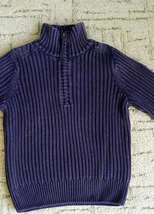 Очень качественный, приятный свитер, кофта для мальчика.