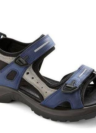 Кожаные сандалии босоножки ecco 41  размер