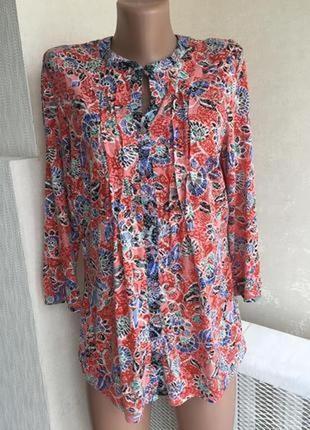 Рубашка блузка трикотаж per una1 фото