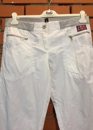 Легкие летние брюки napapijri 46 р2 фото