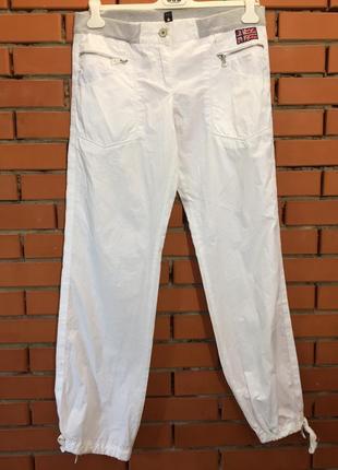 Легкие летние брюки napapijri 46 р1 фото