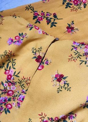 Платье в цветы5 фото