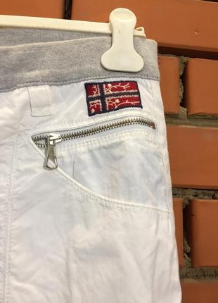 Легкие летние брюки napapijri 46 р3 фото