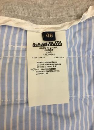 Легкие летние брюки napapijri 46 р8 фото
