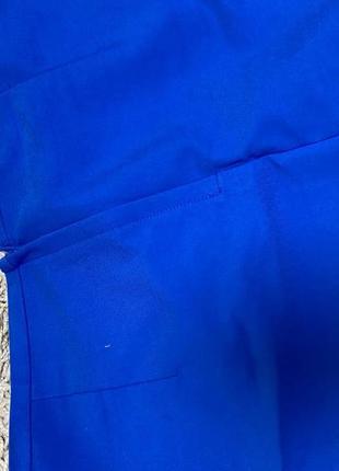 Синяя неоновая юбка2 фото