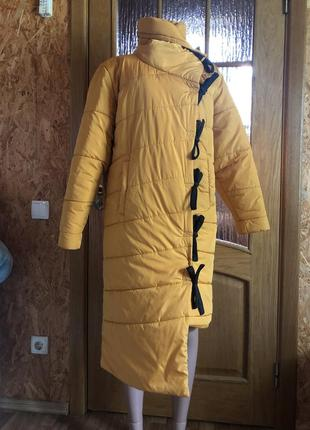 Классное тёплое легкое пальто
