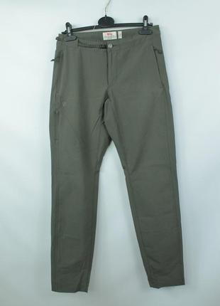 Шикарные трекинговые брюки fjallraven high coast trail ladies trousers1 фото