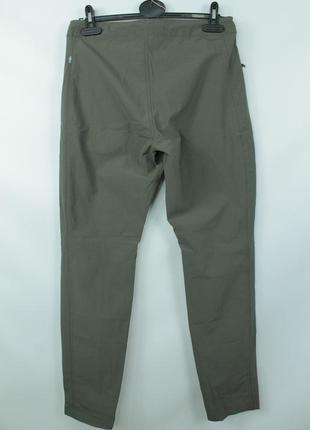 Шикарные трекинговые брюки fjallraven high coast trail ladies trousers6 фото