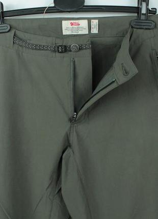 Шикарные трекинговые брюки fjallraven high coast trail ladies trousers2 фото