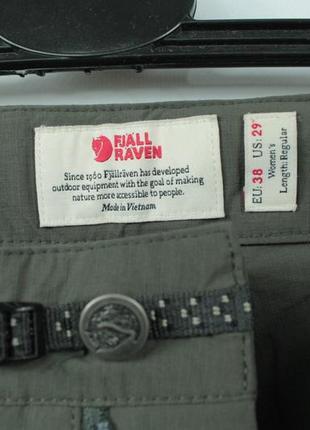 Шикарные трекинговые брюки fjallraven high coast trail ladies trousers3 фото