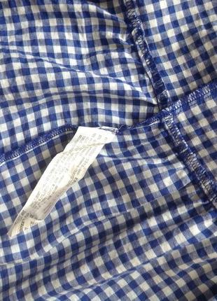 Платье в клеточку zara p.s4 фото