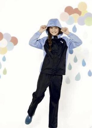 Комплект для дождя дождевик 122-128 см crivit грязепруф