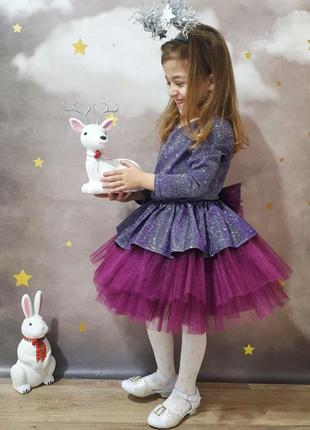 Праздничное платье для куколки!