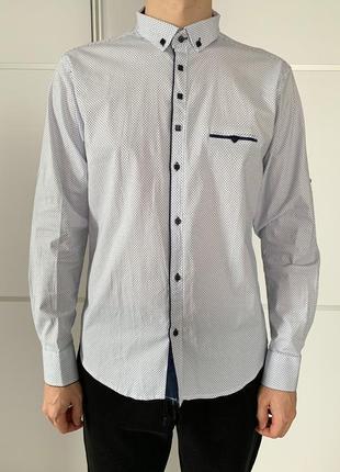 Мужская рубашка . чоловіча біла рубашка. grand men