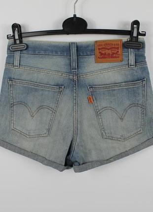 Оригинальные джинсовые шортики levis