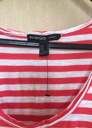 Новая майка mango котон5 фото
