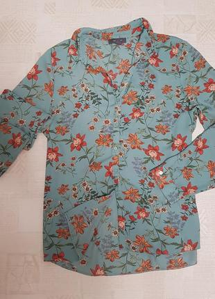 Рубашка большой размер оверсайз