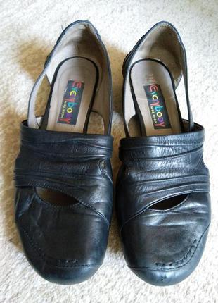 Туфли босоножки из мягчайшей кожи
