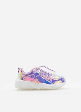 Стильные кроссовки на девочку 33 р, reserved!3 фото
