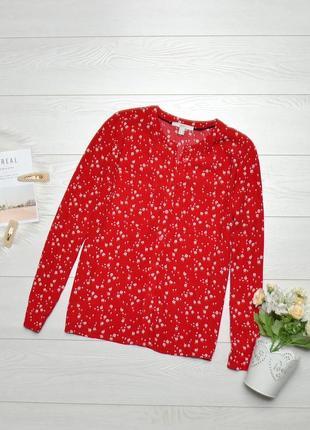 Чудова блуза в квіти esprit.1 фото