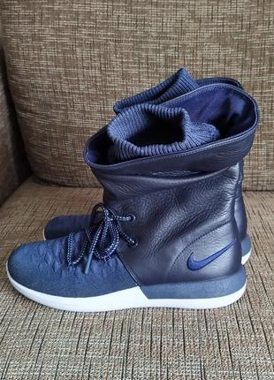 Новые кроссовки nike сапоги ботинки сникербуты кожа us 8,5 найк найки оригинал3 фото