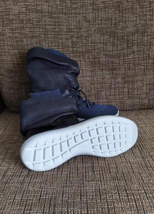 Новые кроссовки nike сапоги ботинки сникербуты кожа us 8,5 найк найки оригинал2 фото