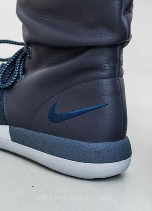 Новые кроссовки nike сапоги ботинки сникербуты кожа us 8,5 найк найки оригинал5 фото