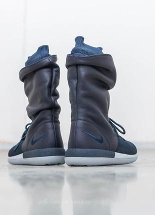 Новые кроссовки nike сапоги ботинки сникербуты кожа us 8,5 найк найки оригинал6 фото