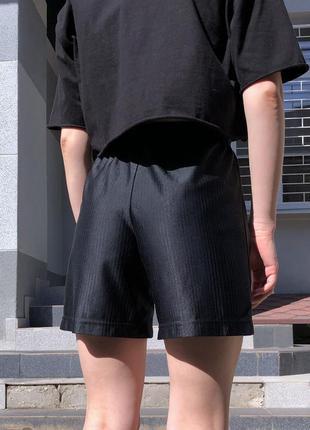 Свободные лёгкие шорты на высокой посадке nike оригинал2 фото
