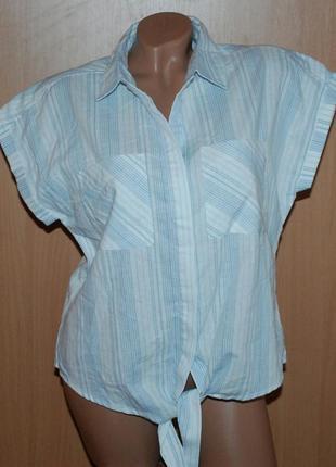 Блуза бренда dorothy perkins / 90% хлопок 10% лен / свободный покрой/