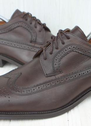 Туфли броги royal class кожа германия 42р как новые