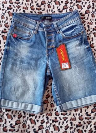 Джинсовые шорты, джинсові шорти