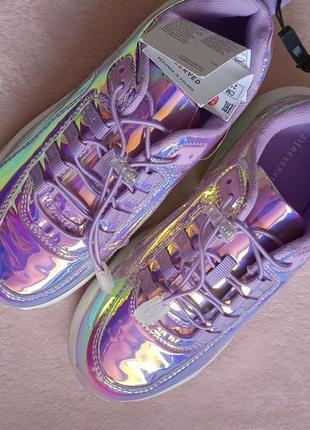 Стильные кроссовки на девочку 33 р, reserved!7 фото