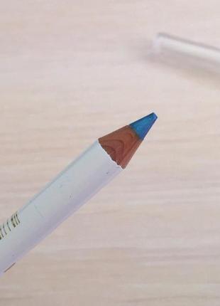 Олівець для очей, карандаш для глаз, голубой карандаш для глаз.