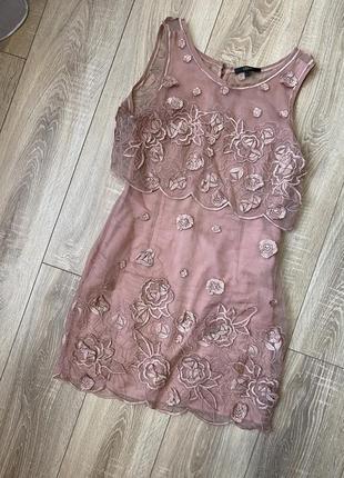Шелковое платье asos