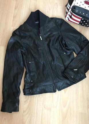 Італійська шкіряна куртка,куртка натуральная кожа