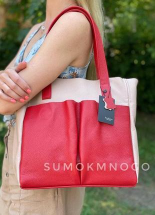 Сумка женская натуральная кожа м02 под заказ в любом цвете