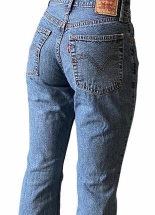 Синие джинсы levis levi's 559 клёш оригинал