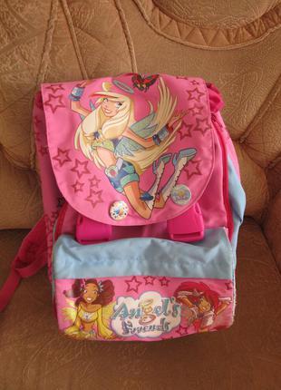 Школьный рюкзак angels friends, б/у