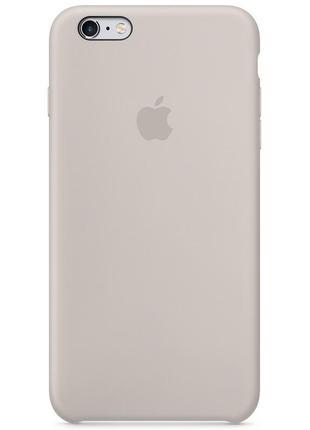 """Чехол для apple iphone 6/6s (4.7"""") (серый / stone)"""