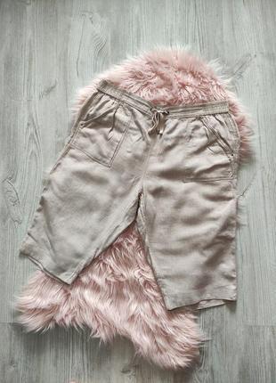 Льняные шорты лен натуральные1 фото