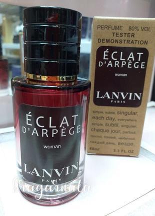 Нежный eclat ланвин💐 цветочный женский парфюм, тестер 60 мл